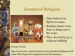 southwest religion