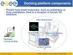 docking platform components