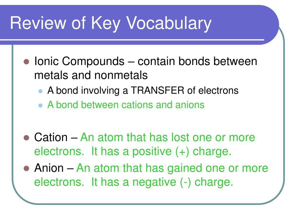 Ch3cl Lewis Dot: Nomenclature PowerPoint Presentation