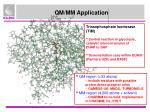 qm mm application