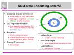 solid state embedding scheme