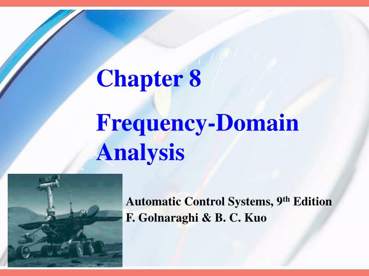 chapter 8 frequency domain analysis n.