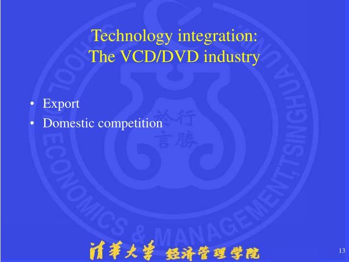Technology integration: