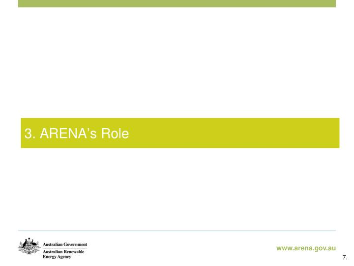 3. ARENA
