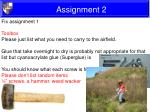 assignment 25