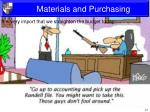 materials and purchasing1