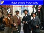materials and purchasing2