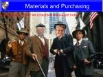 materials and purchasing3