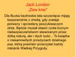 jack london zew krwi