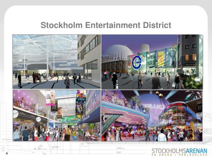 Stockholm Entertainment District