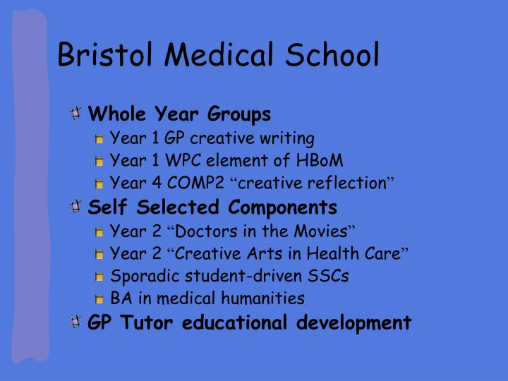 Bristol Medical School