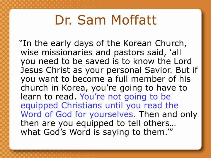 Dr. Sam