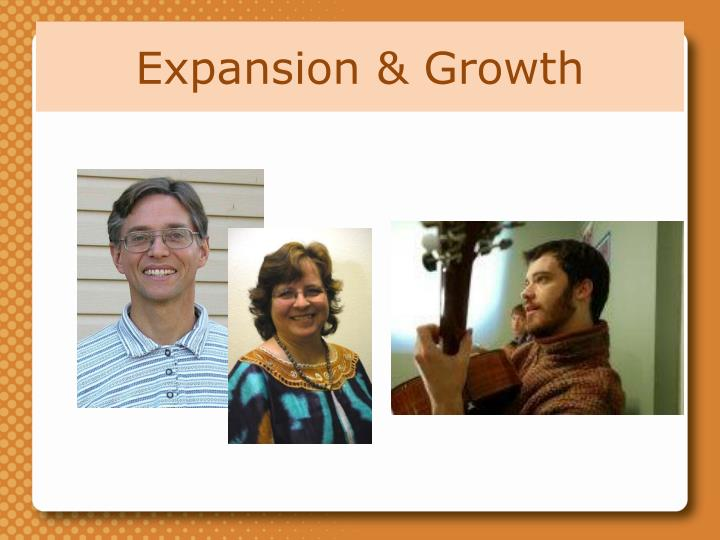Expansion & Growth