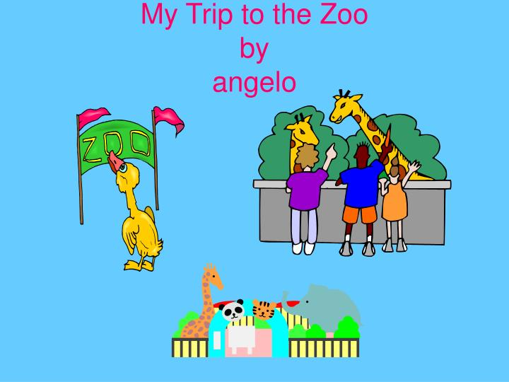 my trip to the zoo by angelo n.