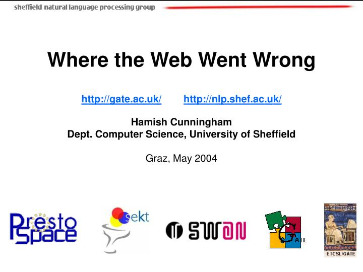 Where the Web Went Wrong