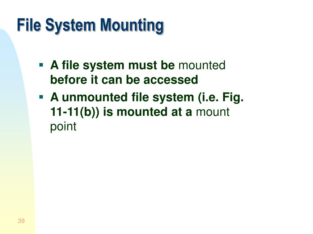 PPT - Module 9: File-Systems PowerPoint Presentation - ID
