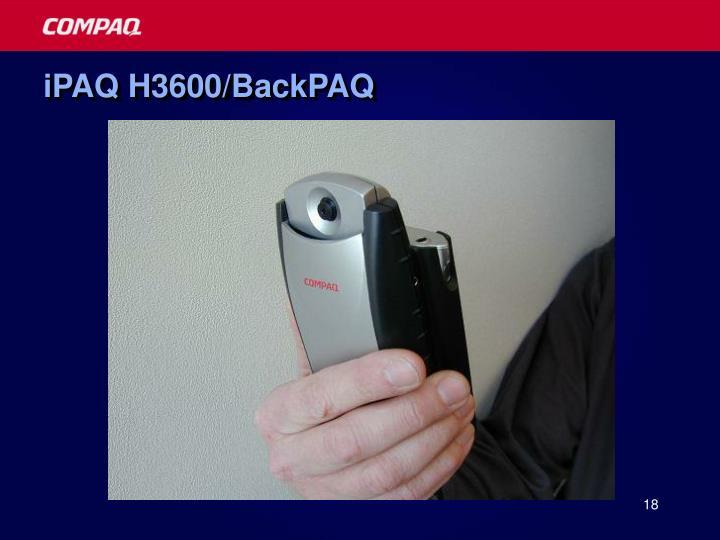 iPAQ H3600/BackPAQ
