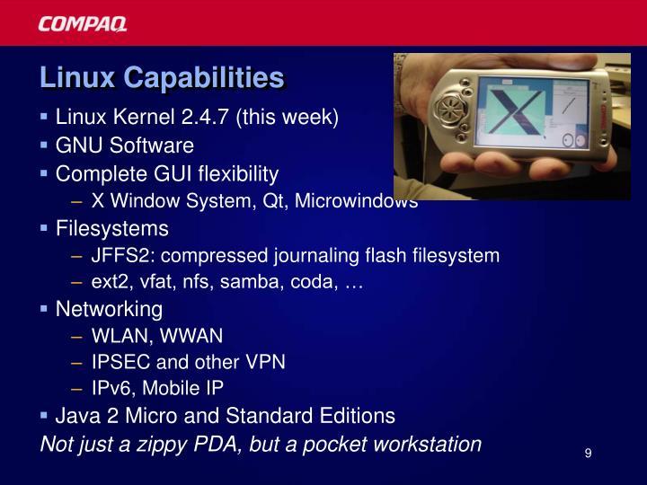 Linux Capabilities
