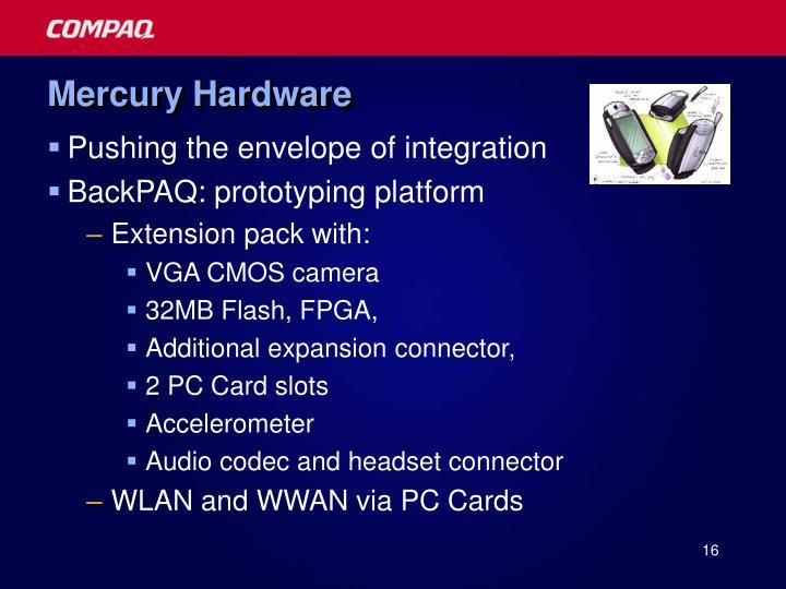 Mercury Hardware