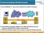 a last word about wlan security