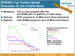 ieee802 11g further speed extension for the 2 4ghz band