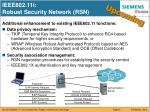 ieee802 11i robust security network rsn