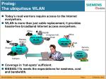 prolog the ubiquitous wlan