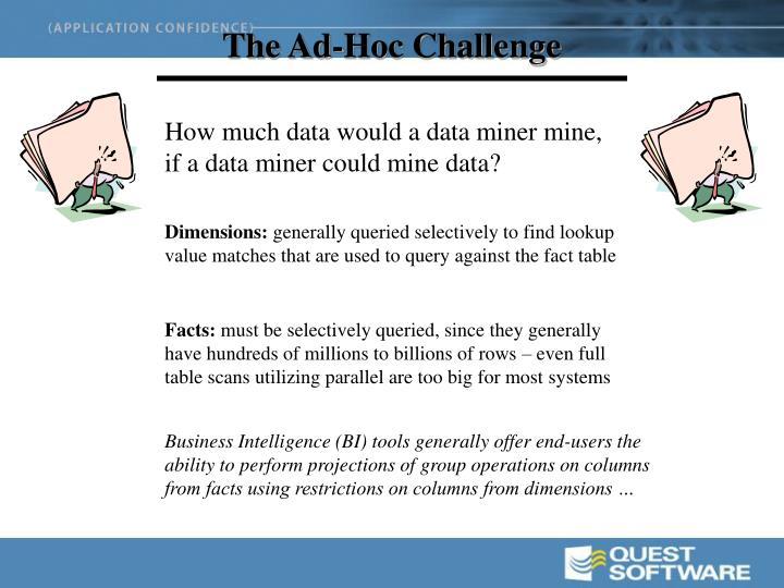 The Ad-Hoc Challenge