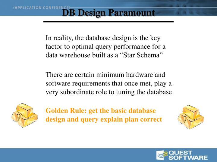 DB Design Paramount