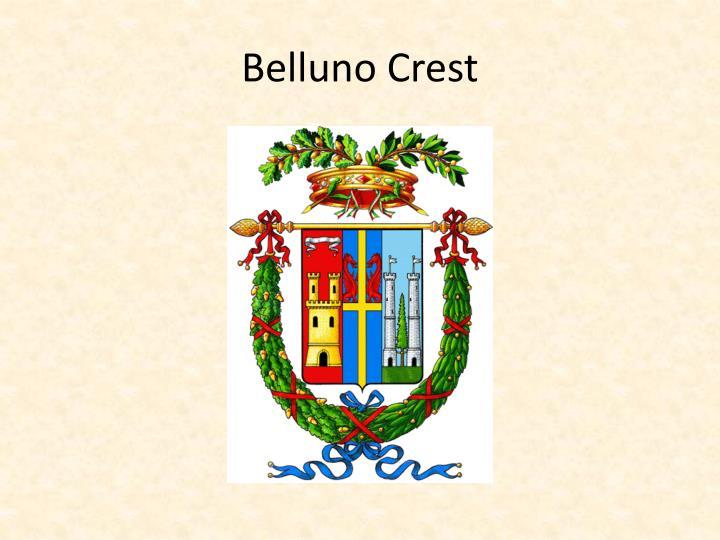 Belluno Crest