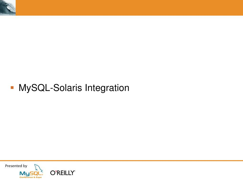 PPT - Best Practices For Deploying MySQL on Solaris