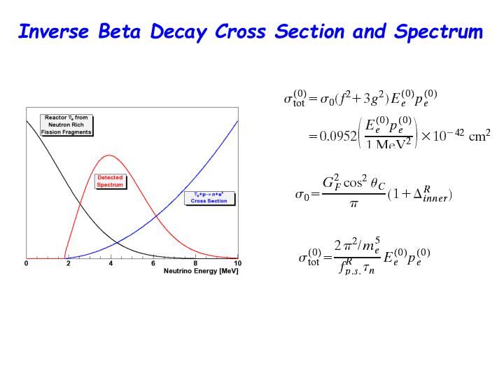 Inverse Beta Decay Cross Section and Spectrum