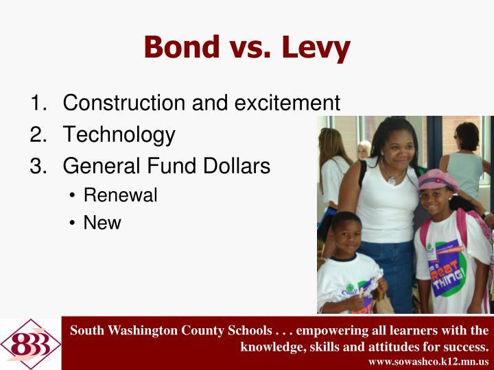 Bond vs. Levy