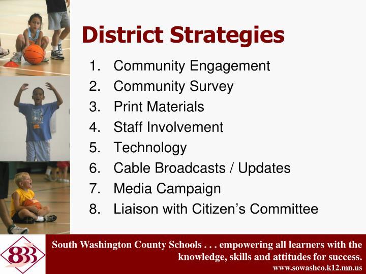 District Strategies