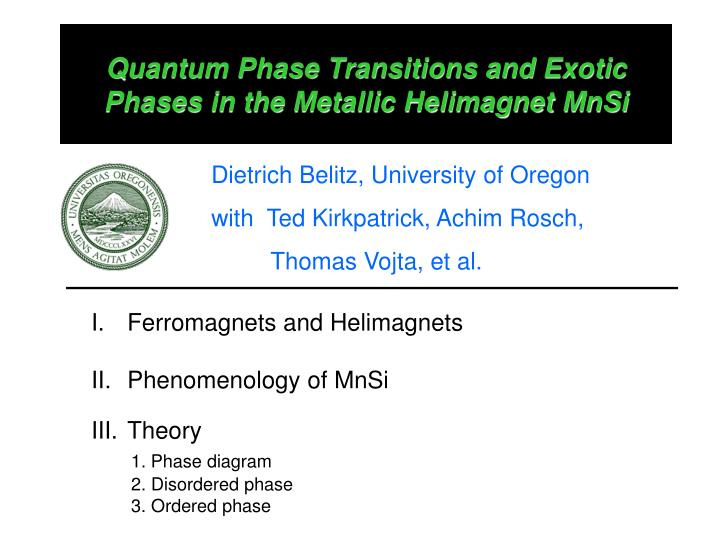 Quantum phase transitions and exotic phases in the metallic helimagnet mnsi