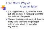 i 3 6 mozi s way of argumentation1