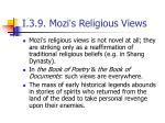 i 3 9 mozi s religious views1