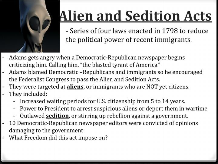 alien and sedition acts 1