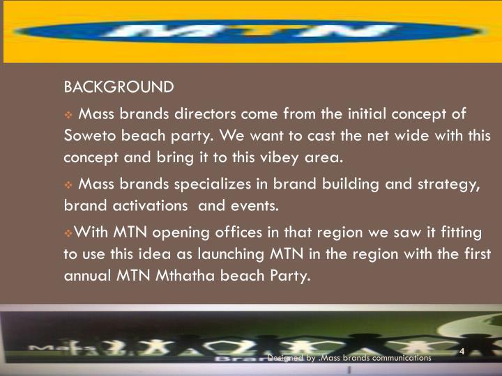 Designed by .Mass brands communications