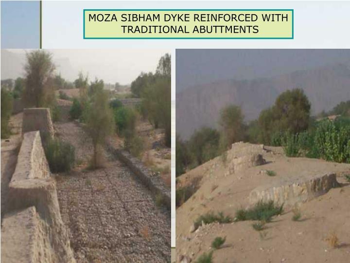 MOZA SIBHAM DYKE REINFORCED WITH
