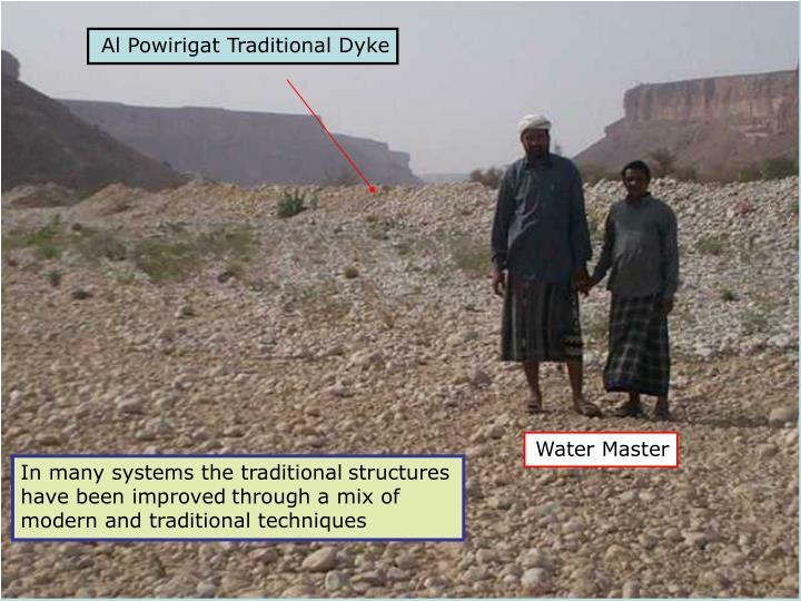 Al Powirigat Traditional Dyke