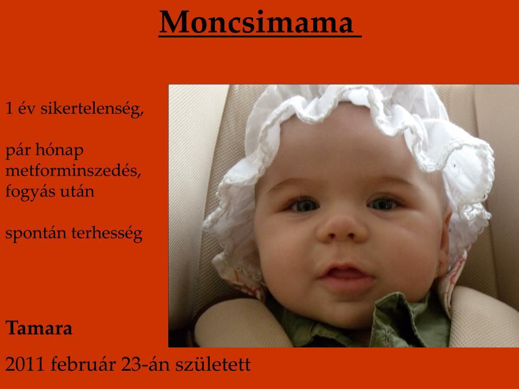 PPT - Metformin bébik I. 2 011 PowerPoint Presentation..
