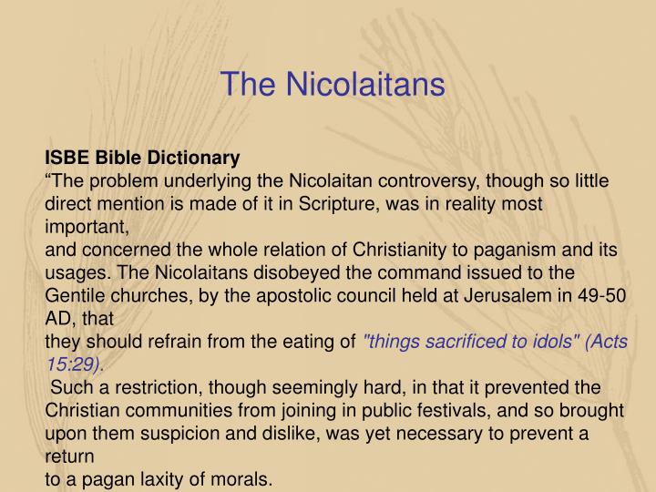 The Nicolaitans