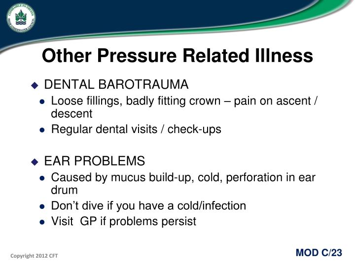 Other Pressure Related Illness