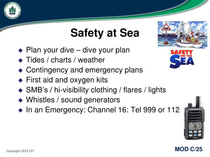 Safety at Sea