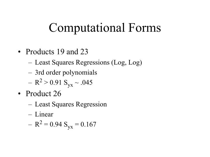 Computational Forms