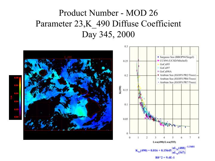Product Number - MOD 26