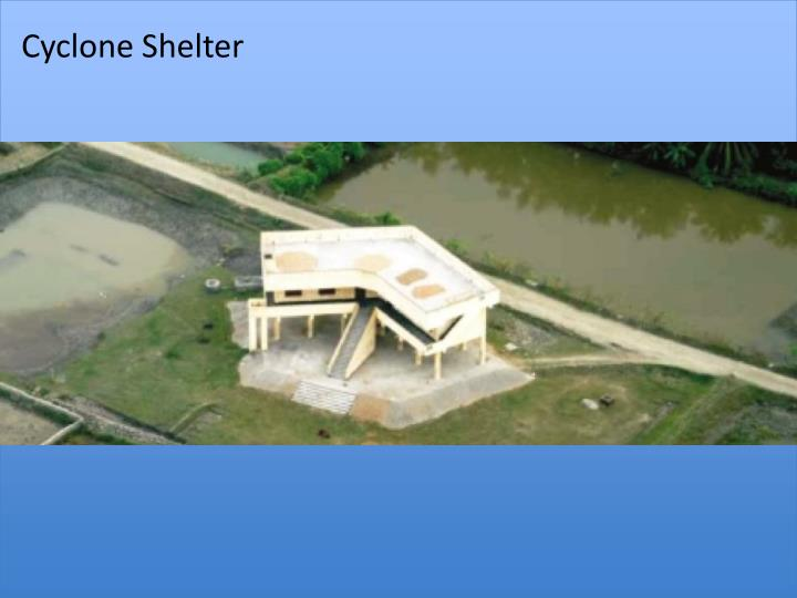 Cyclone Shelter