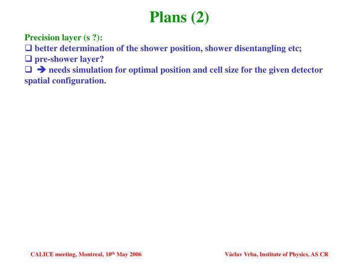 Plans (2)