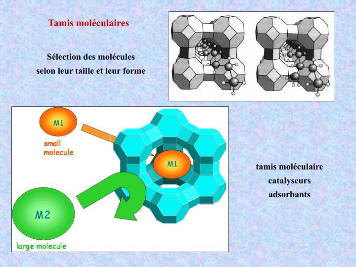 Tamis moléculaires